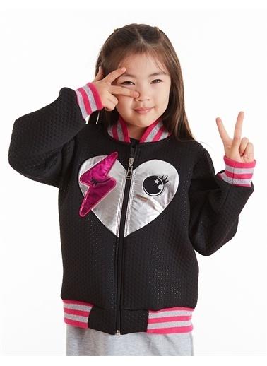Mushi Kalpli Kız Bomber Ceket Pembe